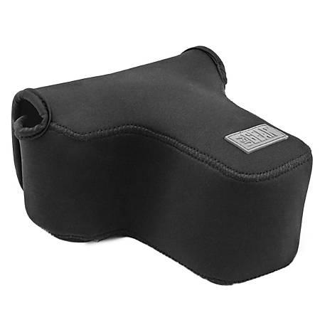 "USA Gear® FlexARMOR Neoprene Sleeve For Digital SLR Cameras, 6.0""H x 5.75""W x 3.0""D, Black"
