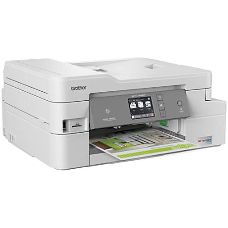 Brother INKvestment Tank All-in-One Wireless Color Inkjet Printer, Scanner, Copier, Fax, MFC-J995DW