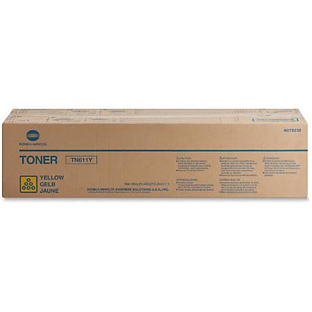 Konica Minolta TN-611Y Original Toner Cartridge