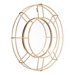 Zuo Modern Goa Round Mirror 25