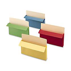 Smead Color Top Tab File Pockets
