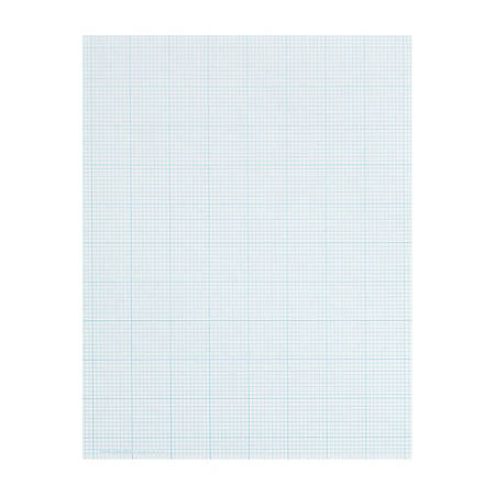 "TOPS™ Cross-Section Pad, 8 1/2"" x 11"", 50 Sheets, White"