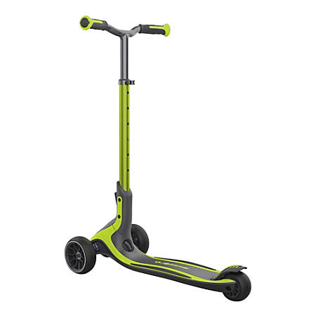 "Globber Ultimum 3-Wheel Scooter, 29-15/16""H x 15-9/16""W x 39-3/4""D, Lime Green"