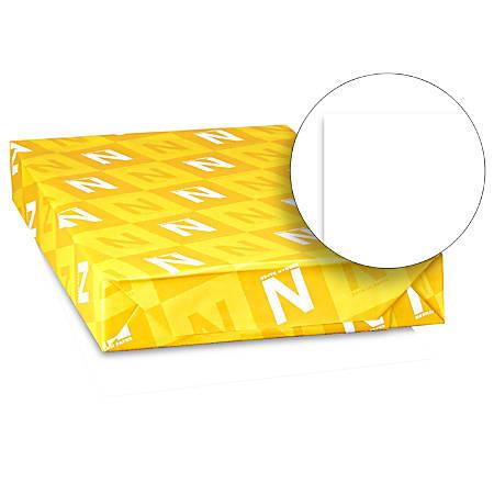 Neenah® Bright White Premium Card Stock, Ledger Size, 65 Lb, FSC® Certified, White, Pack Of 250