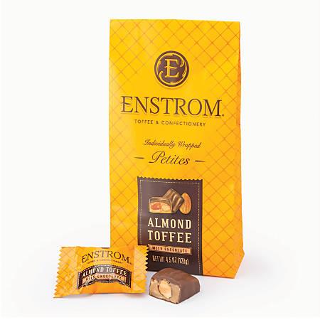 Enstrom Milk Chocolate Almond Toffee, 4.5-Oz Bag