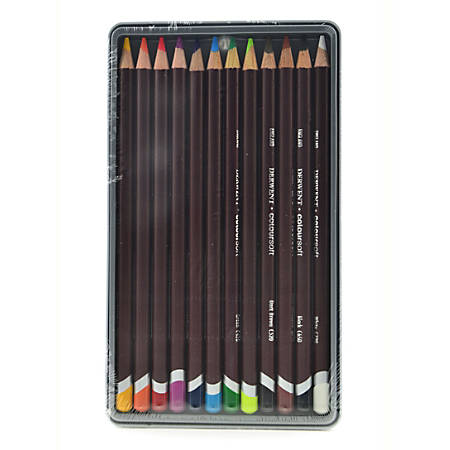 Derwent Coloursoft Pencil Set, Assorted Colors, Set Of 12 Pencils