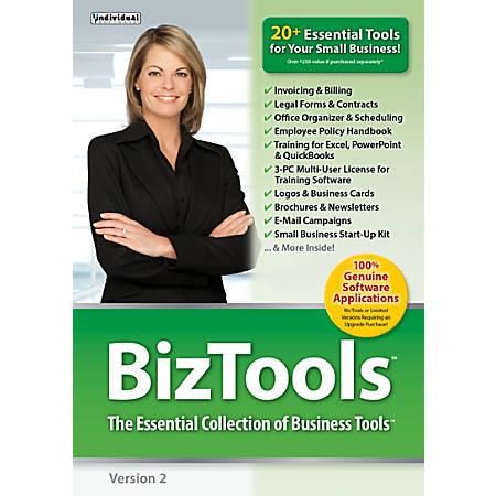 Individual Software BizTools 2, Traditional Disc