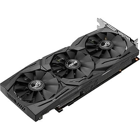 Asus ROG STRIX-GTX1060-A6G-GAMING GeForce GTX 1060 Graphic Card - 6 GB GDDR5 - 1.54 GHz Core - 192 bit Bus Width - DisplayPort - HDMI - DVI