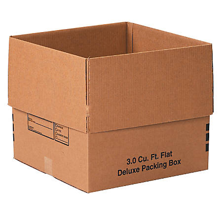 """Office Depot® Brand Deluxe Moving Boxes, 18"""" x 18"""" x 16"""", Kraft, Pack Of 20"""