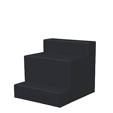 Marco 3-Step Seating Stool, Black