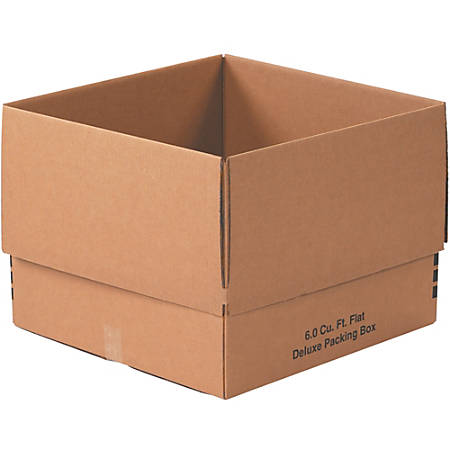 """Office Depot® Brand Deluxe Moving Boxes, 24"""" x 24"""" x 18"""", Kraft, Pack Of 10"""