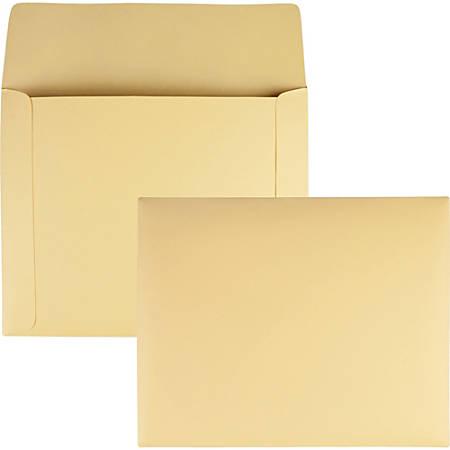 "Quality Park Filing Envelopes - File - 11 3/4"" Width x 9 1/2"" Length - 7 lb - 100 / Box"
