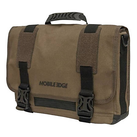 Mobile Edge ECO Messenger Bag for Apple® MacBook Pro, Olive