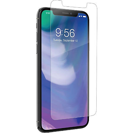 invisibleSHIELD HD Dry Screen Protection Crystal Clear - For LCD iPhone X, iPhone 8 Plus, iPhone 8 - Impact Resistant, Scratch Resistant - Glass