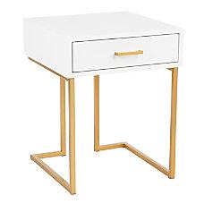 LumiSource Midas Side Table 24 14
