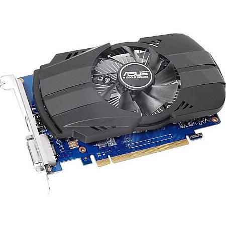 Asus PH-GT1030-O2G GeForce GT 1030 Graphic Card - 2 GB GDDR5 - 1.28 GHz Core - 64 bit Bus Width - HDMI - DVI