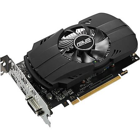 Asus Phoenix PH-GTX1050TI-4G GeForce GTX 1050 TI Graphic Card - 1.29 GHz Core - 1.39 GHz Boost Clock - 4 GB GDDR5 - Dual Slot Space Required - 128 bit Bus Width - Fan Cooler - OpenGL 4.5 - 1 x DisplayPort - 1 x HDMI - 1 x Total Number of DVI (1 x DVI-D)