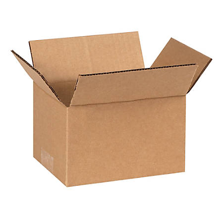 "Office Depot® Brand Corrugated Boxes, 7""L x 5""W x 4""H, Kraft, Pack Of 25"