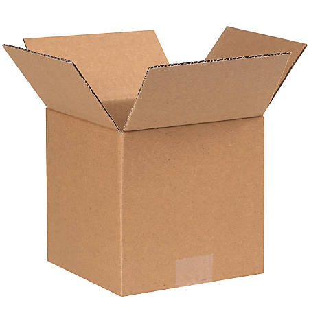"""Office Depot® Brand Corrugated Boxes, 7""""L x 7""""W x 7""""H, Kraft, Pack Of 25"""