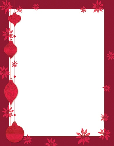 great papers holiday themed letterhead paper 8 12 x 11 painted