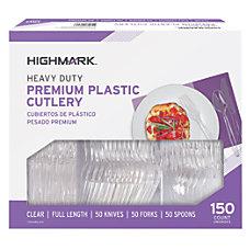 Highmark Heavy Duty Plastic Cutlery Premium