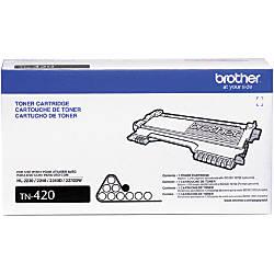 Brother TN 420 Black Toner Cartridge