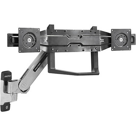 "Ergotron Mounting Bracket for Flat Panel Display - Black - 22"" to 26"" Screen Support - 36 lb Load Capacity"