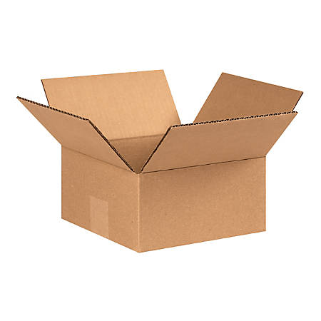 "Office Depot® Brand Corrugated Cartons, 8"" x 8"" x 4"", Kraft, Pack Of 25"