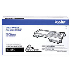 Brother TN 450 High Yield Black