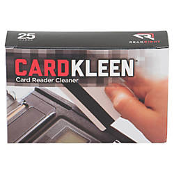 ReadRight CardKleen Magnetic Head Cleaner 25