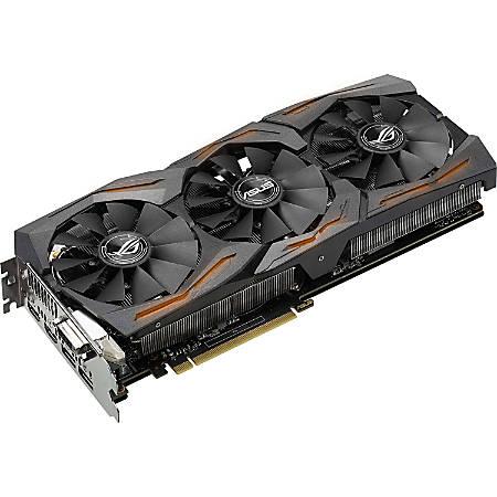 Asus ROG STRIX-GTX1070-8G-GAMING GeForce GTX 1070 Graphic Card - 8 GB GDDR5 - 1.53 GHz Core - 256 bit Bus Width - DisplayPort - HDMI - DVI
