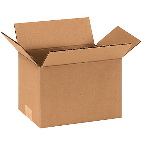 "Office Depot® Brand Corrugated Cartons, 9"" x 6"" x 6"", Kraft, Pack Of 25"