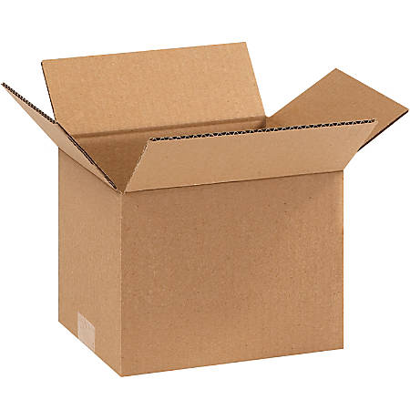 """Office Depot® Brand Corrugated Cartons, 9"""" x 7"""" x 7"""", Pack Of 25"""