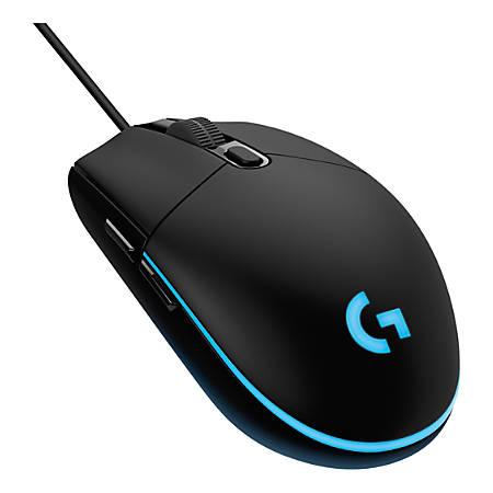 Logitech® G203 Prodigy Gaming Mouse, Black/Blue