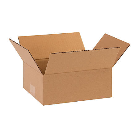 "Office Depot® Brand Corrugated Boxes, 10""L x 8""W x 4""H, Kraft, Pack Of 25"