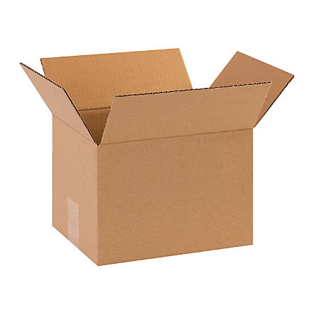 """Office Depot® Brand Corrugated Boxes, 10""""L x 8""""W x 7""""H, Kraft, Pack Of 25"""