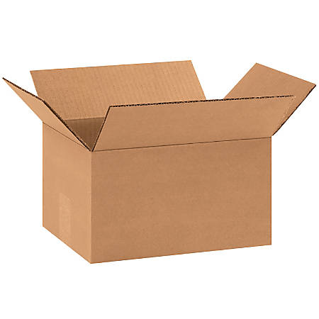 "Office Depot® Brand Corrugated Cartons, 11"" x 8"" x 6"", Kraft, Pack Of 25"