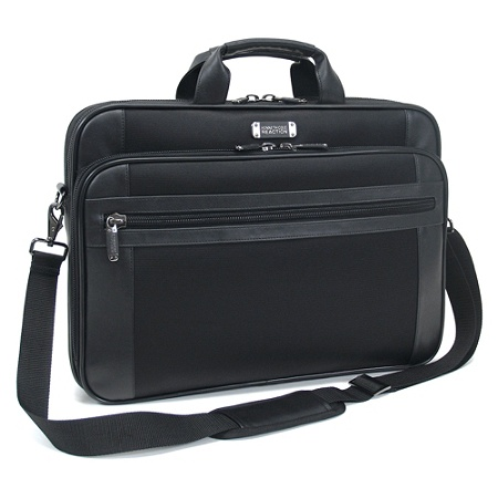 Kenneth Cole Reaction 18 4 Portfoliocomputer Case 13 12 H X 19 W 3 D Black By Office Depot Officemax