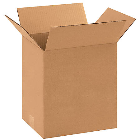 """Office Depot® Brand Corrugated Boxes, 11 1/4""""L x 8 3/4""""W x 12""""H, Kraft, Pack Of 25"""