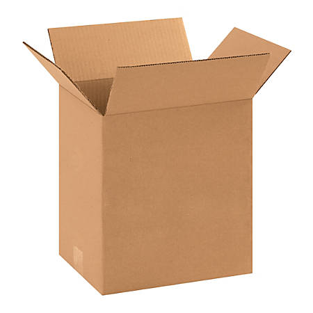 "Office Depot® Brand Heavy-Duty Corrugated Cartons, 11 1/4"" x 8 3/4"" x 12"", Kraft, Pack Of 25"