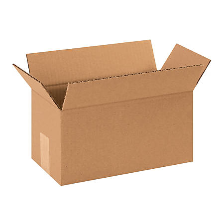"Office Depot® Brand Heavy-Duty Corrugated Cartons, 12"" x 6"" x 6"", Kraft, Pack Of 25"
