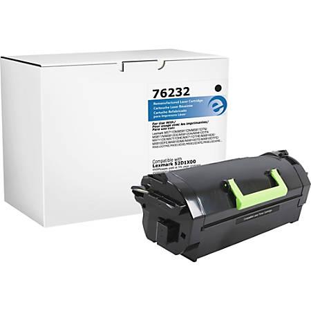 Elite Image Remanufactured Toner Cartridge - Alternative for Lexmark 521X (52D1X00) - Black - Laser - High Yield - 45000 Pages - 1 Each
