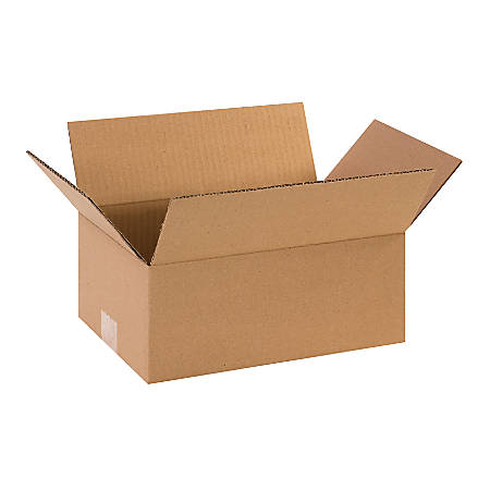 """Office Depot® Brand Corrugated Boxes, 12""""L x 8""""W x 5""""H, Kraft, Pack Of 25"""