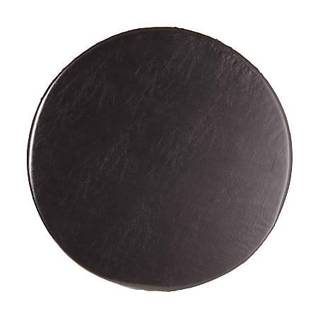 HealthSmart® Deluxe Swivel Seat Cushion, Leatherette, Black