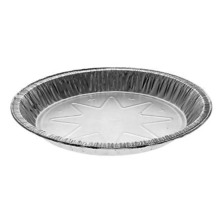 """Reynolds Round Aluminum Carryout Containers, 10"""", Silver, Carton Of 400 Containers"""