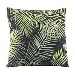 Zuo Modern Tropical Pillow BlackGreen