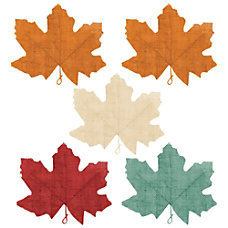 Amscan Burlap Fall Muted Autumn Leaves