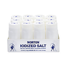 Morton Restaurant Style Iodized Salt Shakers