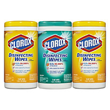 Clorox Disinfecting Wipes Fresh ScentCitrus Blend