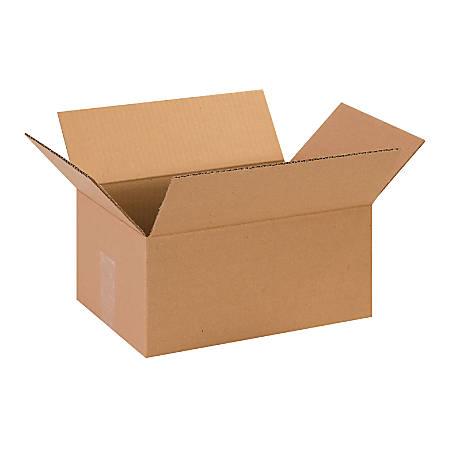 "Office Depot® Brand Corrugated Cartons, 13"" x 9"" x 6"", Kraft, Pack Of 25"